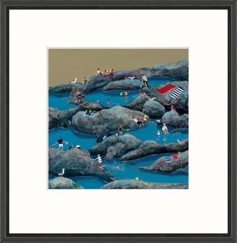 Rock Pools - Limited Edition print by Jenni Murphy – image 2