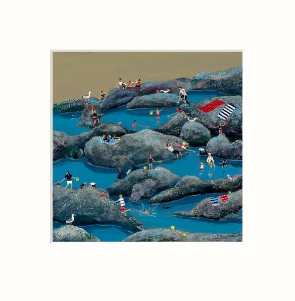 Rock Pools - Limited Edition print by Jenni Murphy – image 1