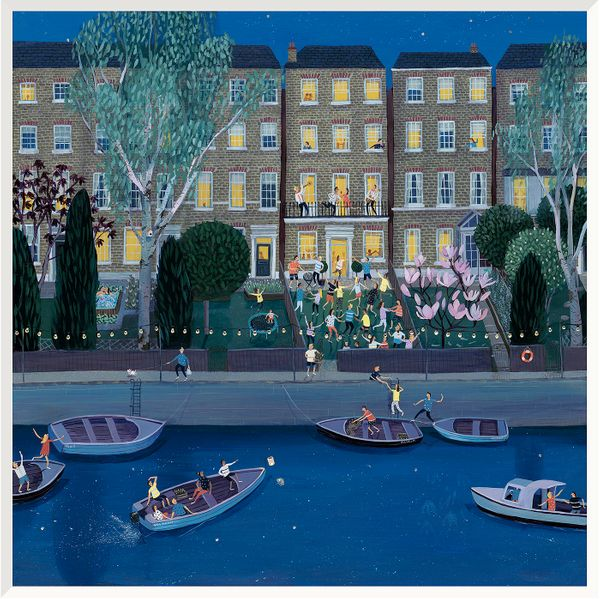 Party in the Terrace - Limited Edition print by Jenni Murphy – image 1