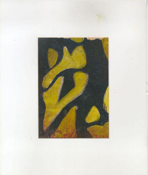 Racines - Acrylic by Dominique Le Grand Philouze