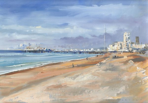 Winter Pier by Tony Parsons Limited Edition Print
