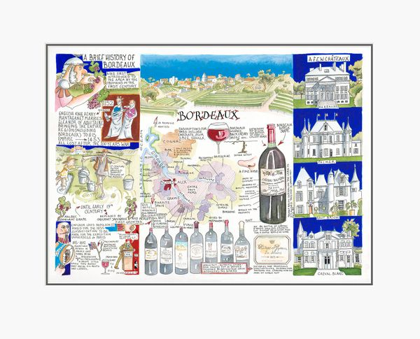 Bordeaux - Limited Edition Print by Tim Bulmer – image 1