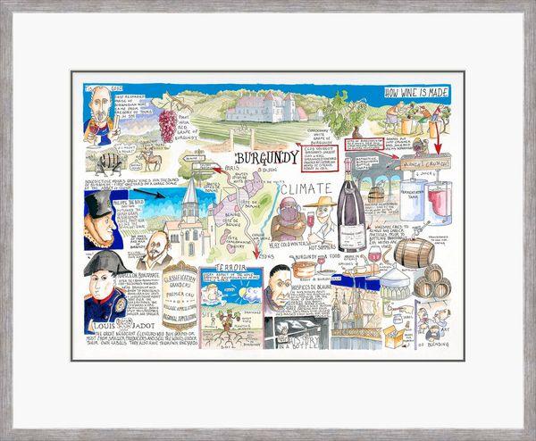Burgundy - Limited Edition Print by Tim Bulmer