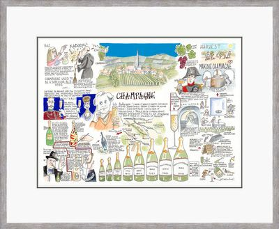 Champagne - Limited Edition Print by Tim Bulmer