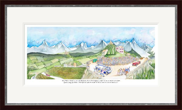 Young Tiffosi  - Limited Edition Print by Tim Bulmer – image 2