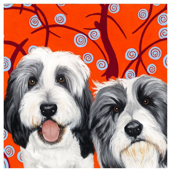 Pete and Dod  - Limited Edition Print by Paula Zimmerman