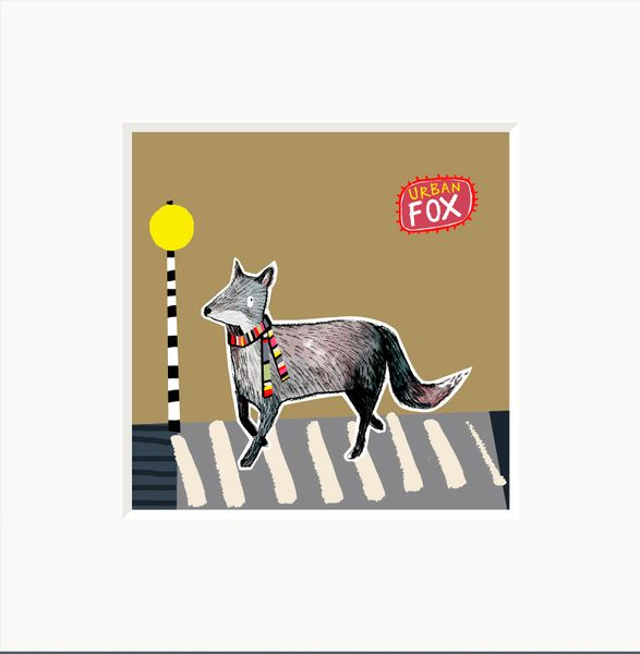 Urban Fox -  Anna Hymas