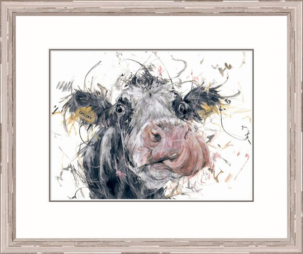 Cheeky Cow - Limited Edition Print by Aaminah Snowdon – image 2