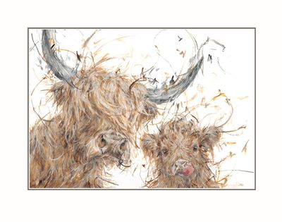 Big Coo, Little Coo - Limited Edition Print by Aaminah Snowdon – image 1