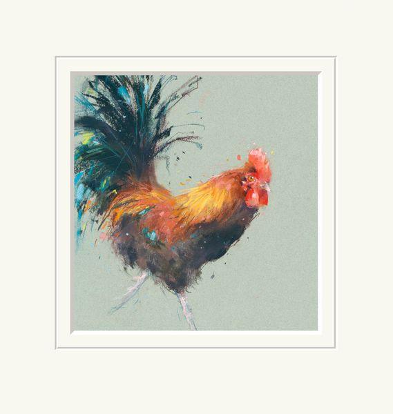 Chicken Run - Limited Edition Print by Nicky Lichtfield