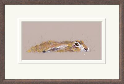 Hideaway Hare  - Limited Edition Print by Nicky Lichtfield – image 2