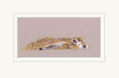 Hideaway Hare  - Limited Edition Print by Nicky Lichtfield – image 1