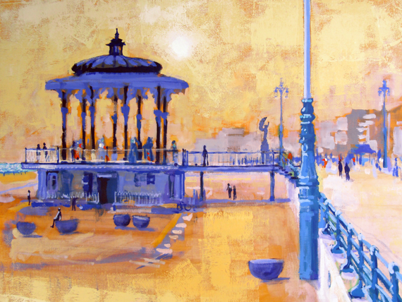 BRIGHTON BANDSTAND by Colin Ruffell