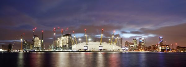 LondonO2City933B - Fineart Photography by David Freeman