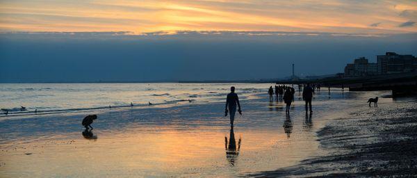 EveningStroleSea774 - Fineart Photography by David Freeman