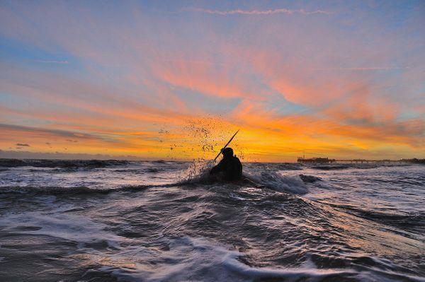 KayakingSea801 - Fineart Photography by David Freeman
