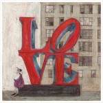 It's all we need is love - Limited Edition Print by Sam Toft – image 1