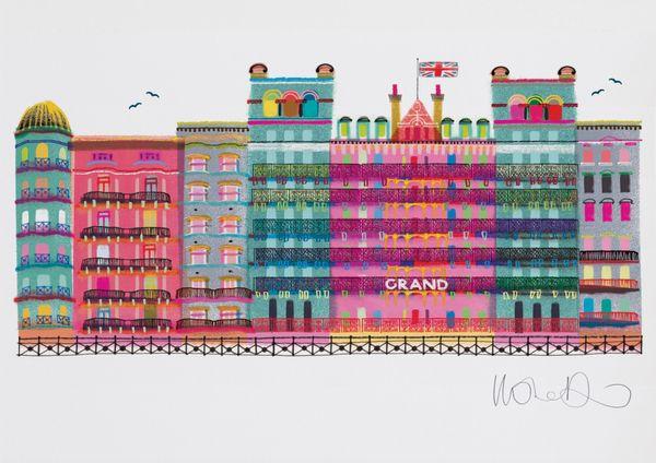 The Grand Brighton - giclee print A3 – image 2