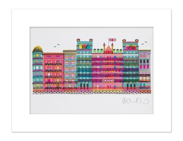 The Grand Brighton - giclee print A3 – image 3