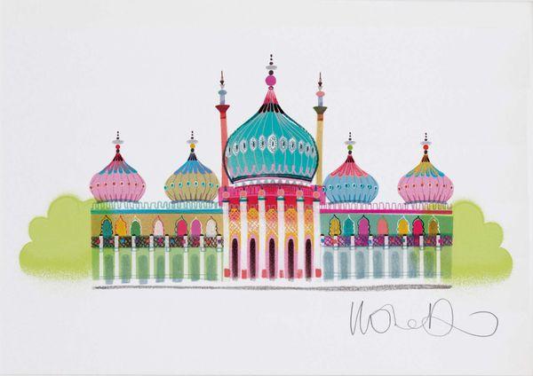 Brighton Pavilion  - giclee print A3 – image 1