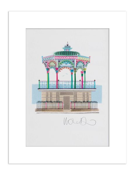 Brighton Bandstand - giclee print A3 – image 2