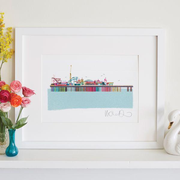 Brighton Palace Pier - giclee print A3 – image 2