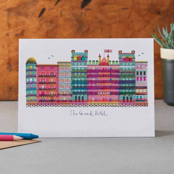 The Grand, Brighton - Greeting Card