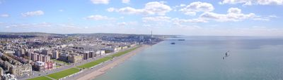 """Gliding Home to Brighton ""  Panorama - POST Photography"