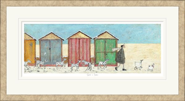 Spots 'n' Flakes - Limited Edition Print by Sam Toft – image 2
