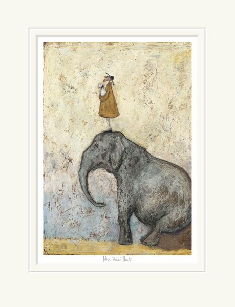 Nice View, That - Limited Edition Print by Sam Toft – image 1