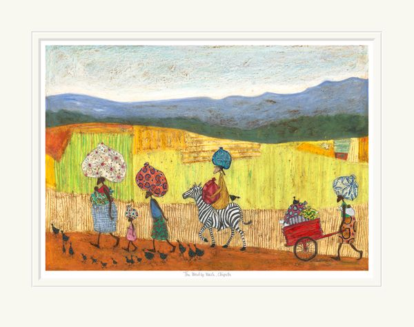 The Weekly Wash, Chipata - Limited Edition Print by Sam Toft – image 1