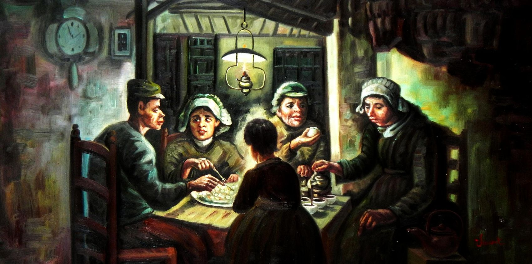 Potato eaters painting essay