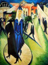 Ernst Ludwig Kirchner - Potsdamer Platz 90x120 cm Reproduction Oil Painting 001