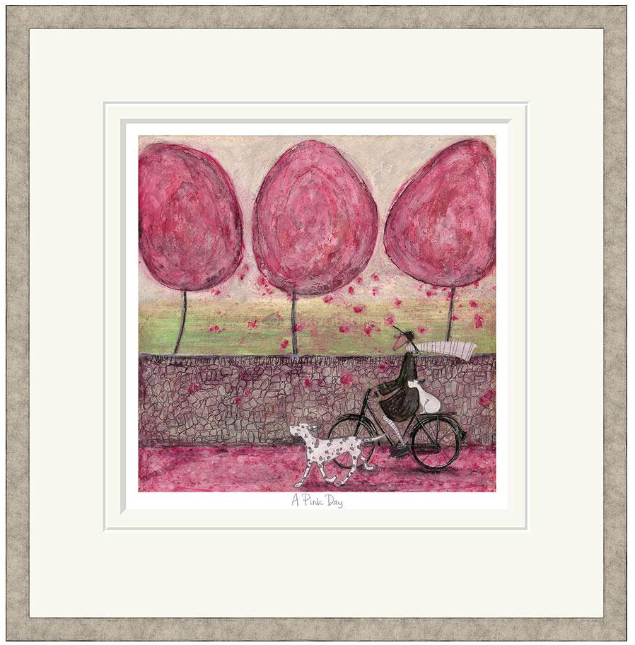 A pink day limited edition print by sam toft artprints limited a pink day limited edition print by sam toft image 2 m4hsunfo