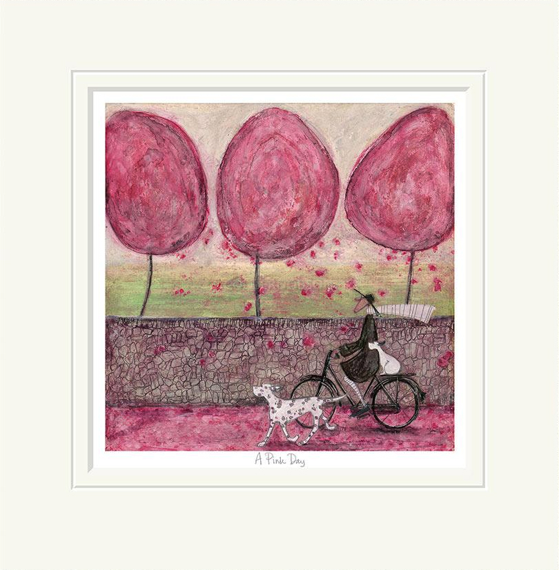A pink day limited edition print by sam toft artprints limited a pink day limited edition print by sam toft m4hsunfo
