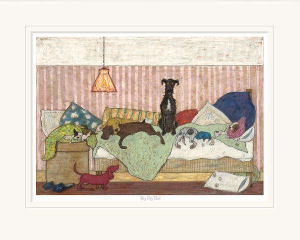 Big Dog Bed - Limited Edition Print by Sam Toft – image 1