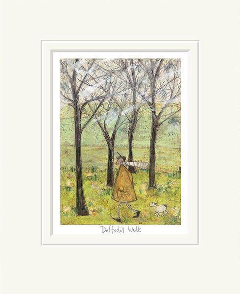 Daffodil Walk - Limited Edition Print by Sam Toft