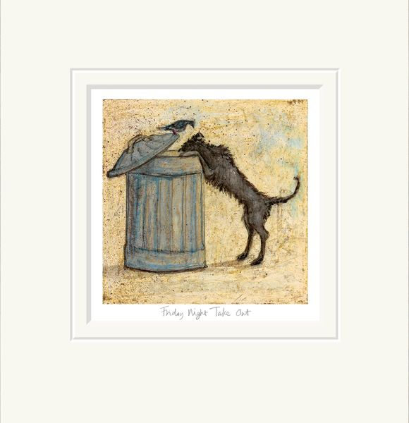 Friday Night Take Out - Limited Edition Print by Sam Toft – image 1