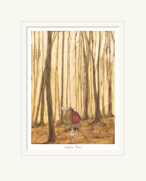 Golden Years - Limited Edition Print by Sam Toft – image 1