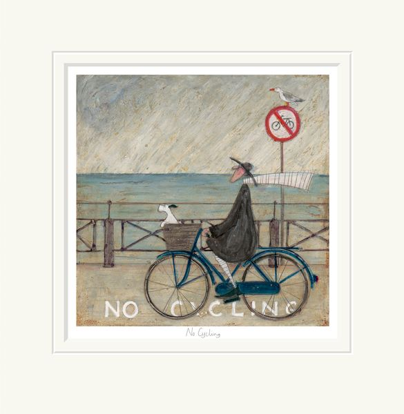No Cycling - Limited Edition Print by Sam Toft – image 1