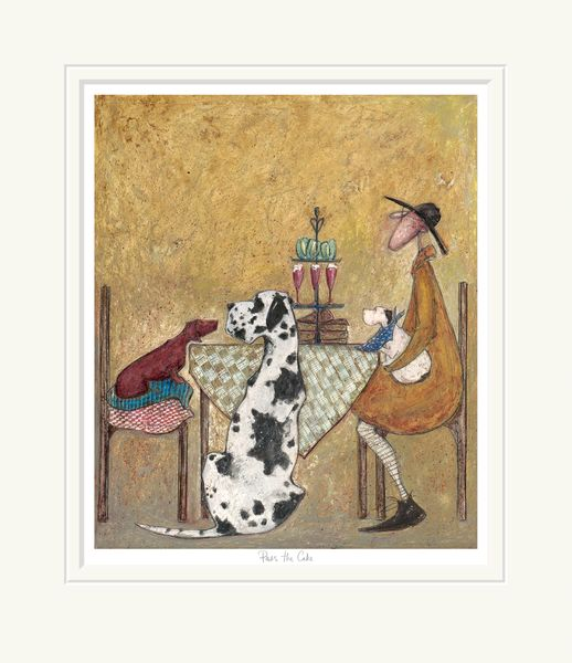 Pass the Cake - Limited Edition Print by Sam Toft – image 1