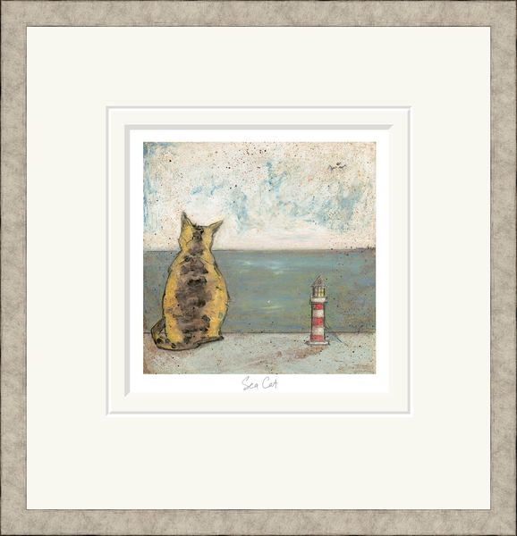 Sea Cat - Limited Edition Print by Sam Toft – image 2