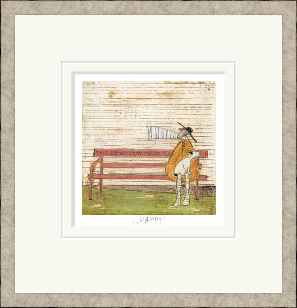 This Bench May Make You Happy! - Limited Edition Print by Sam Toft – image 2