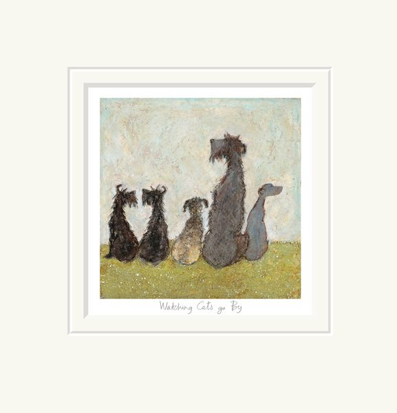 Watching Cats Go By - Limited Edition Print by Sam Toft – image 1