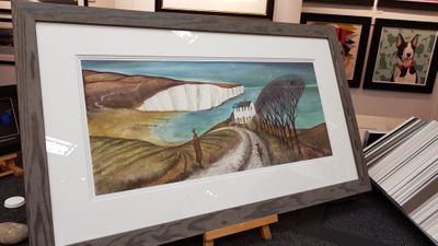 Cuckmere Haven - Limited Edition print by Joe Ramm