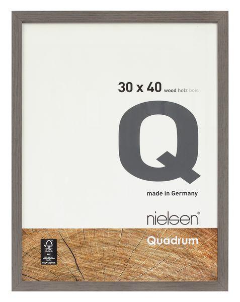 Nielsen Quadrum 42x59.4cm A2 Veneer Grey Wood Picture Frame