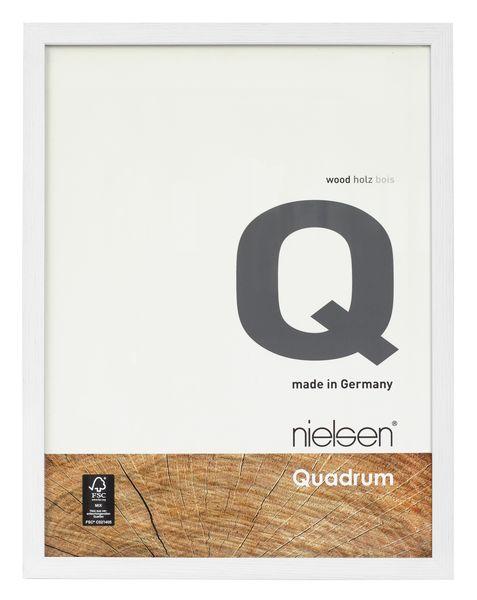 Nielsen Quadrum 60x80 Veneer Snow Wood Picture Frame – image 1