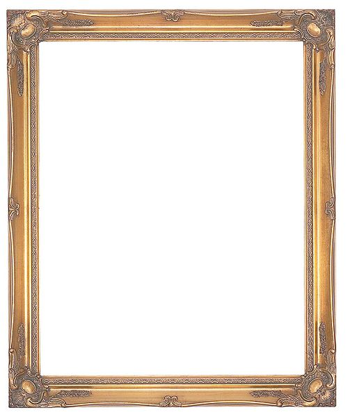 2 '' Ornate Swept Gold Frame '' Leonie ''