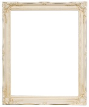 2 '' Ivory Decorative Ornate Swept Frame '' Ivy ''  – image 1
