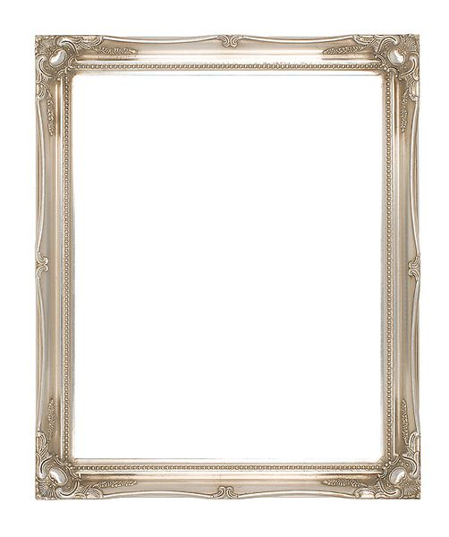 2 '' Silver Decorative Ornate Swept Frame '' Starla ''  – image 1